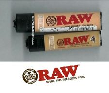 BOTH RAW Rolling Papers CLIPPER isobutane Lighters SMALL MINI and LARGE Sizes