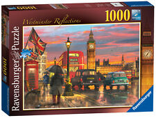 19716 Ravensburger London Jigsaw Westminster Reflections 1000pc Puzzle 12+