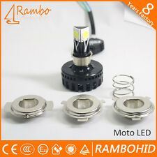 M4 4LED HID KIT White Light BIKE / CAR Headlight HIGH / LOW BEAM - (12V)
