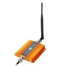 "2G/3G/4G Cell Phone Signal Booster Amplifier w/ 0.6"" LCD - Golden"