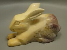 Rabbit Mookaite Jasper 2.5 inch Animal Carving Rock Bunny Gemstone Australia