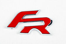 FR Badge *Red* Seat R Decal Red Cupra Leon Toledo Ibiza Logo Self Adhesive - SF2