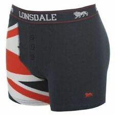 Lonsdale Mens Underwear Limited Edition Union Jack Small Trunk Boxer 1 Pair