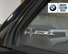 BMW E36 is in my Blood window sticker decals graphic