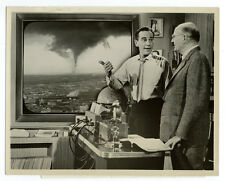 Photo Presse Science Richard Carslon Tornade / tornado cyclone photographie 1959