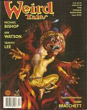 WEIRD TALES 335 ROWENA, TANITH LEE, TERRY PRATCHETT