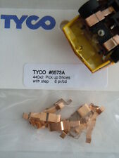 6 Pair Original Tyco 440-X2 Copper Slot Car Pickup Shoes