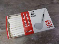 DENICOTEA Papierfilter 4 mm - 60 Stück - NEU - 010104