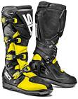 SIDI XTREME SRS BOOTS YELLOW FLUO BLACK CHEAP OFF ROAD MOTOCROSS ENDURO MX CHEAP