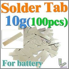 10g 100 Pcs Solder Tab For Sub C AA AAA 10440 18650 Battery Cell
