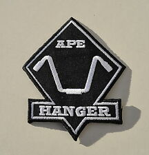Apehanger,Biker Aufnäher,Old School,Patch,Chopper,Shovel,Evo,Harley,Pan,HD