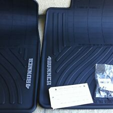 TOYOTA 4RUNNER 2003-2009 ALL WEATHER FRONT BLACK FLOOR MATS
