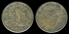 1 Peso 1909-S US-Philippine Silver Coin - Stock # 43