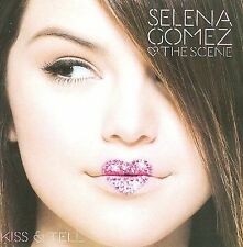 SELENA GOMEZ & THE SCENE - KISS AND TELL - CD