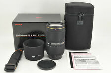 *Excellent+++* Sigma EX 50-150mm f/2.8 APO DC HSM for Nikon from Japan #0680
