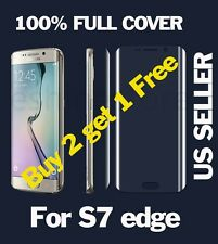 Curved HD FULL COVER Ultra Thin Screen Protector Film For Samsung Galaxy S7 Edge