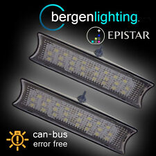 FOR BMW 3 SERIES E90 E91 E92 2006-2013 24 LED INTERIOR ROOF COURTESY LAMPS PAIR