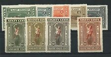 QUEBEC LAW STAMPS VF MNH high $$$ Canada mint