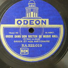 78rpm GROCK dans son sketch de music hall , parts 5 & 6