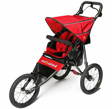 Brand new in box Out n about nipper sport V4 pushchair carnival red & raincover