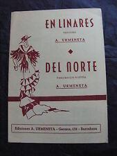 Partition En Linares  Del norte de A. Urmeneta