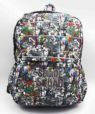 Suicide Squad Harley Quinn Joker School Laptop Bag Bookbag Backpack Rucksack Bag