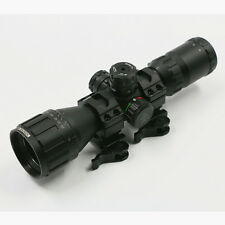 Leapers UTG CQB BugBuster Rifle Scope 3-9x32 RGB Mil-dot Quick detachable Rings