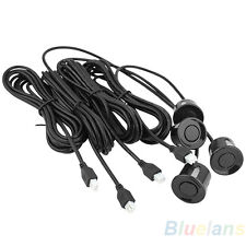 4Pcs Popular Car Parking Aid Sensors Parts Black Reversing Sensor Radar Probe
