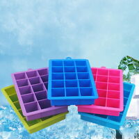 DIY Silicone Ice Cube Tray Freeze Mould Bar Jelly Pudding Chocolate Mold Maker