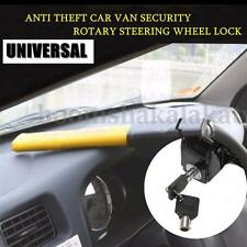 Universal Car Vehicle Steering Wheel Anti Theft Safety Lock Heavy Duty + 2 Keys