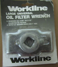 "NEW LARGE UNIVERSAL OIL FILTER WRENCH - Removes 3-3/8"" to 3-7/8"" Dia. Filters"