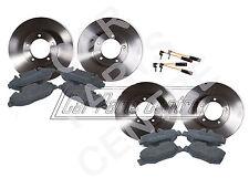 Pour mercedes vito 639 avant arrière disques de frein pads set kit capteurs bosch type 03 -