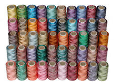 50 variegate rayon macchina da RICAMO bobine di filettatura (mix colori assortiti)