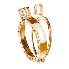 Emozioni Hot Diamonds Emozioni Yellow Gold Plated Sterling Silver Keeper - 25mm