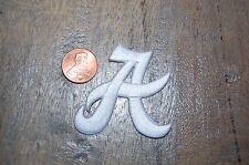 """Alabama Crimson Tide 1 3/4"""" """"A"""" Logo Patch College"""