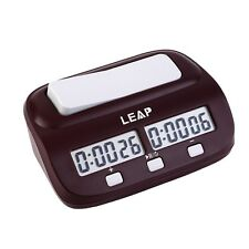 Chess Clock Timer Digital Chess Clock Two LED Screens Fashion Simple #S