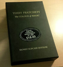 Terry Pratchett The Colour of Magic SIGNED Limited LTD Slipcased edition Hardbac