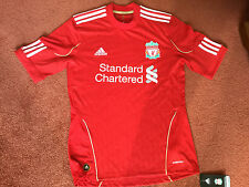 LIVERPOOL F C Home Jersey / Shirt / Top 2010 - 2012 Season Size Small NWT