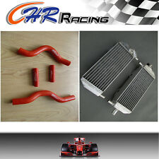 aluminum radiator and hose for Suzuki RM250 RM 250 2001-2008 2002 2003 2004