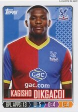 N°079 DIKGACOI SOUTH AFRICA CRYSTAL PALACE.FC STICKER TOPPS PREMIER LEAGUE 2014