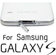 Samsung Galaxy S5 G900 G900F USB Dust Waterproof Charger Dock Port Cover SILVER