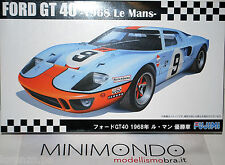 KIT GULF FORD GT40 WINNER LE MANS 1968 1/24 FUJIMI 12605 RS97 GT-40