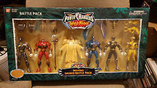 Power Rangers Wild Force Savage Battle Pack w/ MASTER ORG 6 Pack NEW IN BOX 2002