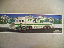 "Vintage Hess Gas 1995 ""Toy Truck & Helicopter"" NIB"