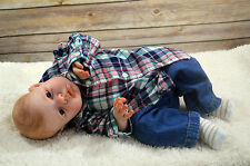Beautiful Realistic Reborn Baby Boy Maxwell (Noah Awake Sculpt)