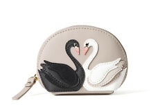 NWT Kate Spade RARE!! On Point Swan Coin Purse Wallet PWRU5177