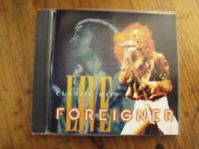 CD Foreigner Live Classic Hits