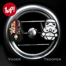 2 X Star Wars Novelty Home Car Vent Clip-On Air Freshener Citrus Fragrance Scent