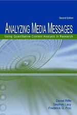 Analyzing Media Messages: Using Quantitative Content Analysis in Research (Lea C