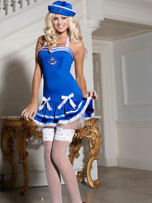 Ladies Sexy Ann Summers Sailor Girl fancy dress up Hen  size 8 Xmas Party Gift